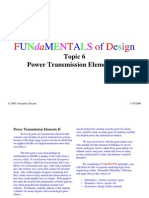 Design of Power Transmission Sys