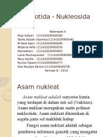 BIOKIMIA Nukleotida Nukleosida