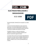 Eco-308 Electroestimulador Manual