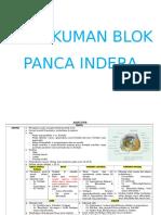 Rangkuman Panca Indera