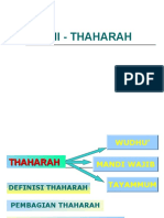 Bab II - Thaharah