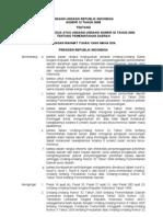 UU No.12 Tahun 2008 Tentang Perubahan Kedua Atas Undang-Undang Nomor 32 Tahun 2004