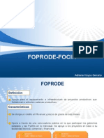 Financiamiento Foprode