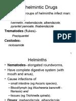 Anthelmintic Drugs
