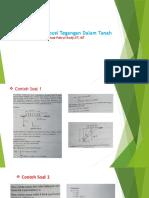 Contoh Soal Distribusi Tegangan Dalam Tanah.pptx