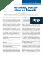 clave medicamento metamizol