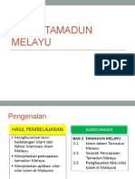 Bab 3 Tamadun Melayu (Revision Class Slide)