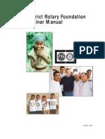 TRF Seminar Manual 438en