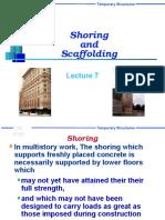Shoring & Scaffolding
