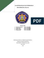 makalah Multimeter Analog