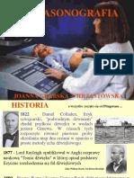 ULTRASONOGRAFIA prezentacja