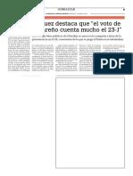 160413 La Verdad CG- Gemma Vasquez destaca que el voto de cada gibraltareño cuenta mucho el 23-J p.9