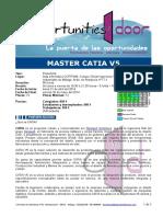 CA ING 140421 Máster Catia V5 90horas