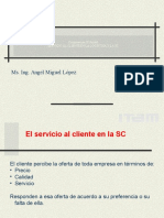 S6 Servicio Al Cliente y SC- Servicio Logistico Al Cliente