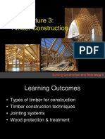 Lecture 3 Timber Construction