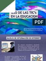 Uso de Las Tic's en La Educación