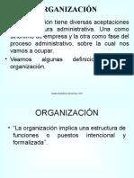 organización contable