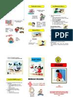 Leaflet Diare Penyuluhan