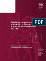 Regulating Employment in Europe