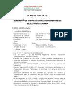 Plan de Incremento Horario 2015