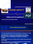 Crane Safety Refresher