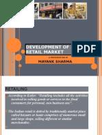 Development of Indian Retail Market