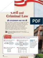 chapter 16 - civil and criminal law