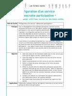 Préfiguration service démocratie participative