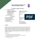 Sylabus de FarmacologiaII