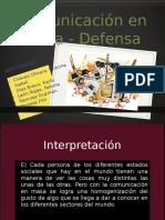 Defensa Comunicacion