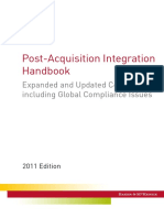 Post Acquisition Integration Handbook 2011
