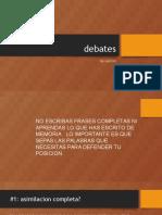 AP Spanish Debates