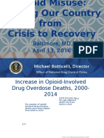 Federal Efforts to Control the Opioid Epidemic