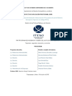 Reporte Final sobre justica alternativa Verano 2015