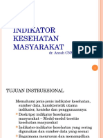 INDIKATOR KESEHATAN