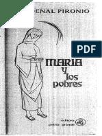 Cardenal Pironio - María y Los Pobres