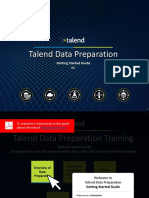 TalendDataPrep GettingStarted En