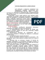 Regimul Pacientului Diagnosticat Cu Diabet Zaharat