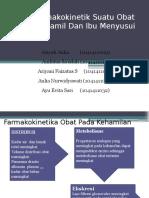 PPT Farmakokinetik Terapan pada Ibu Hamil dan Menyusui