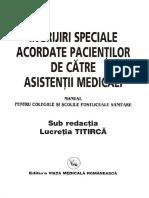 Ingrijiri Speciale Acordate Pacientilor de Asistenti Medicali Pentru Colegiile Si Scolile Postliceale Sanitare