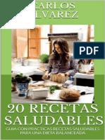 20 Recetas Saludables Carlos Álvarez