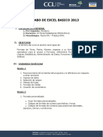 Silabo Excel Basico