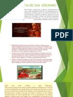 Biografia de San Jeronimo de huaccaña