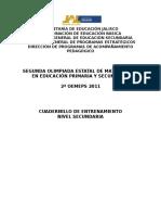 Cuadernillo Matematica Moderna Entrenamiento