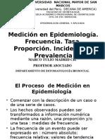 4. Medición en Epidemiología