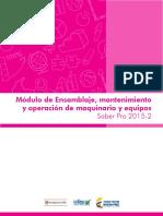 Guia de Orientacion Modulo de Ensamblaje Mantenimiento y Operacion de Maquinaria y Equipos Saber Pro 2015 2 (1)