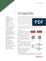 Datasheet Oracle Nosql Db Ce 1876735