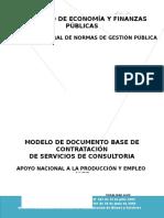 Dbc Contratacion de Consultores de Linea Para Desarrollar Actividades Del Programa Promosca en La Distrital Senasag Pando 2cargos