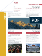 Programme des Piolets d'or 2016