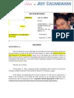 Cagandahan and Silverio Case